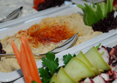 Mezze buffet from special event